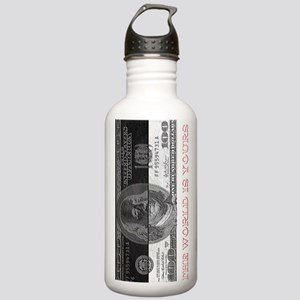 The world is yours  Stainless Water Bottle 1.0L