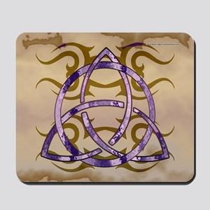 Marbled Triquetra Mousepad