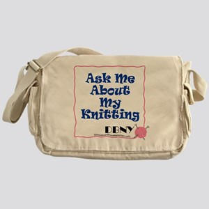 10x8-center-template-ask-me Messenger Bag