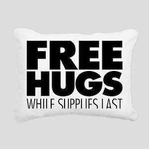 Free Hugs Rectangular Canvas Pillow