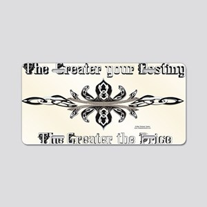 Celtic Destiny Aluminum License Plate