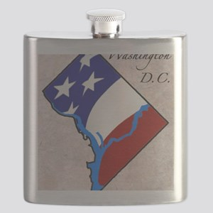 DISTRICT OF COLUMBIA Flask