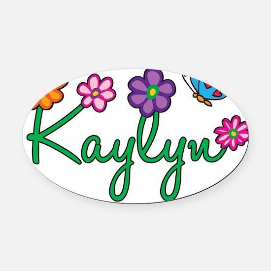 Kaylyn Oval Car Magnet