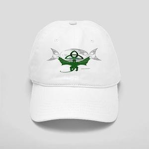 Tri-Moon Dragon Baseball Cap