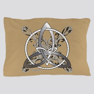 Silver Infinity Knot Pillow Case