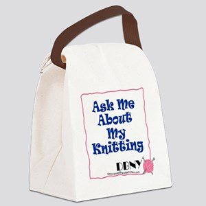 ask-me Canvas Lunch Bag