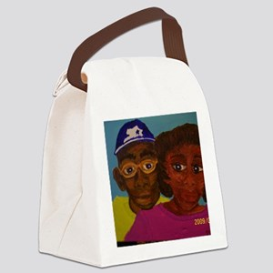 Chelsa and Daryl Canvas Lunch Bag