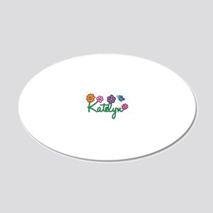 Katelyn 20x12 Oval Wall Decal