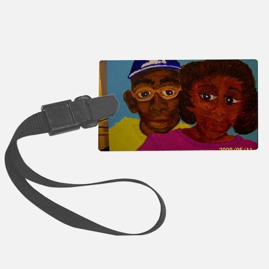 Chelsa and Daryl Luggage Tag