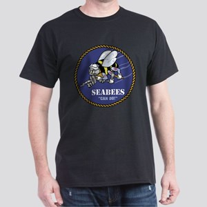 U.S. Navy Seabees Dark T-Shirt