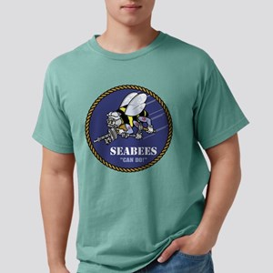U.S. Navy Seabees Mens Comfort Colors Shirt