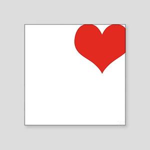 "I love MILFS Square Sticker 3"" x 3"""
