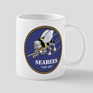 U.S. Navy Seabees 11 oz Ceramic Mug