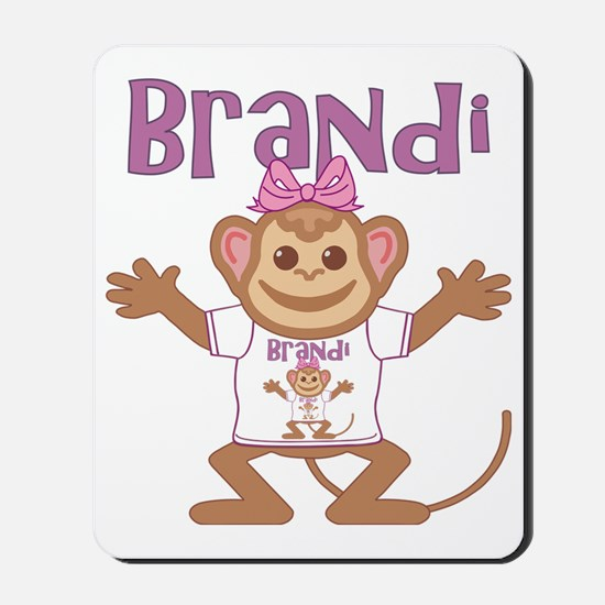 brandi-g-monkey Mousepad