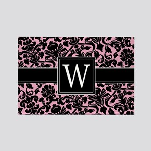 W_bags_monogram_02 Rectangle Magnet