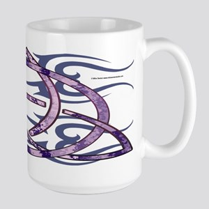 Marbled Triquetra Mugs