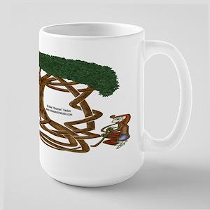 Life Interwoven Large Mug