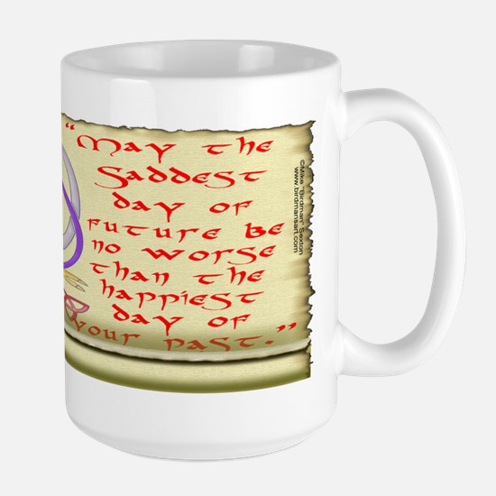 Celtic Quote Large Mug