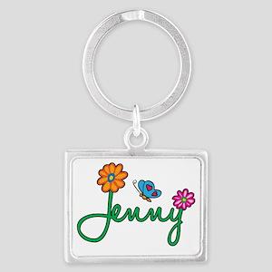 Jenny Landscape Keychain