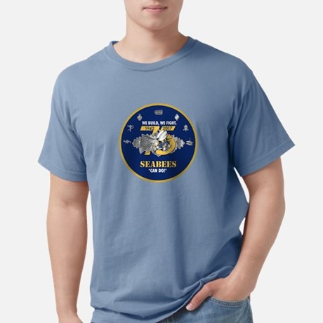 U.S. Navy SeaBee 75th  Comfort Color Tee
