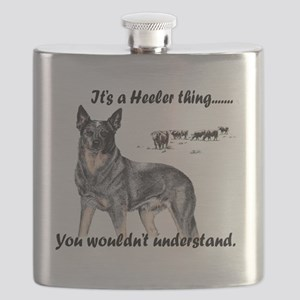 Its A Heeler Thing.... Flask