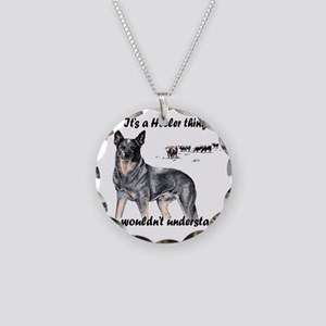 Its A Heeler Thing.... Necklace Circle Charm