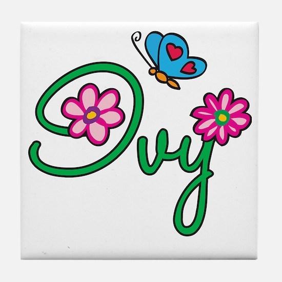 Ivy Tile Coaster