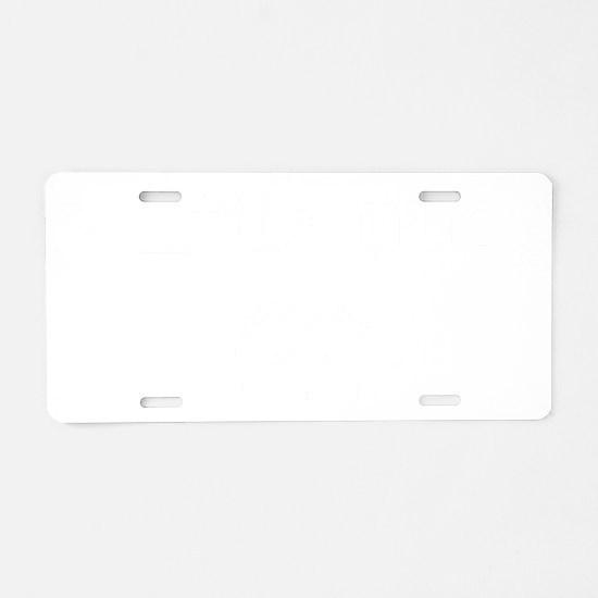 nudger2 Aluminum License Plate
