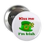 Kiss Me I'm Irish Hat ver2 2.25