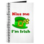 Kiss Me I'm Irish Hat ver2 Journal