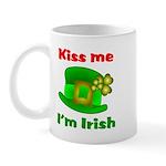 Kiss Me I'm Irish Hat ver2 Mug
