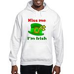 Kiss Me I'm Irish Hat ver2 Hooded Sweatshirt