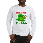 Kiss Me I'm Irish Hat ver2 Long Sleeve T-Shirt
