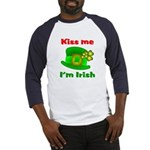 Kiss Me I'm Irish Hat ver2 Baseball Jersey