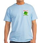 Kiss Me I'm Irish Hat ver2 Light T-Shirt