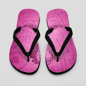 kindle_CurlyRibbon_PinkDRK Flip Flops
