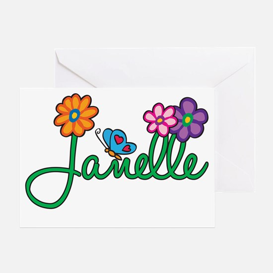 Janelle Greeting Card