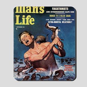 MANS LIFE, Sept - 18hiX300 Mousepad