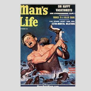 MANS LIFE, Sept - 18hiX30 Postcards (Package of 8)