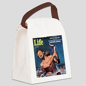 MANS LIFE, Sept - 18hiX300 Canvas Lunch Bag