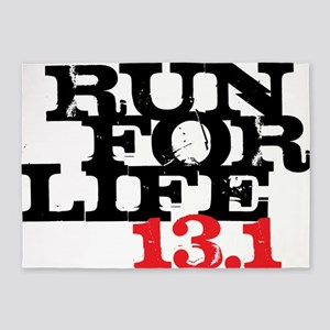 Run for Life 13 5'x7'Area Rug
