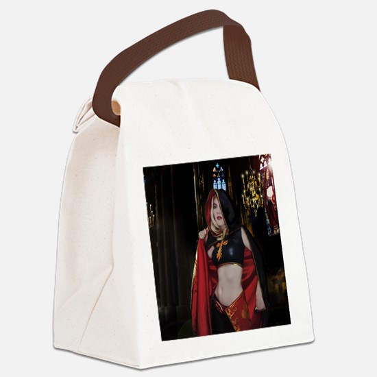 July Poster Print Canvas Lunch Bag