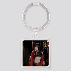 July Poster Print Square Keychain