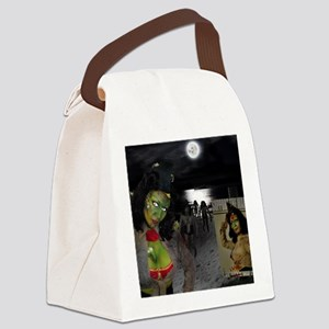 May Poster Print Canvas Lunch Bag