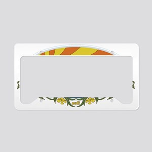 sunrise License Plate Holder
