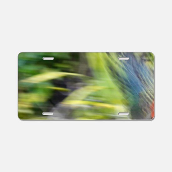 New Zealand Alpine Parrot ( Aluminum License Plate