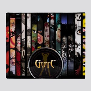 Front Cover Poster Throw Blanket