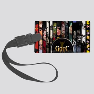 Front Cover Poster Large Luggage Tag