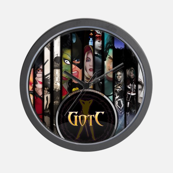 Front Cover Poster Wall Clock