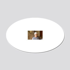 Doorkeeper and greeter of th 20x12 Oval Wall Decal